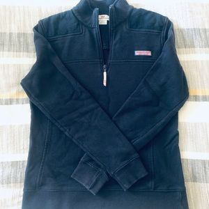 Vineyard Vines Navy Quarterzip